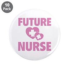 "Future Nurse 3.5"" Button (10 pack)"