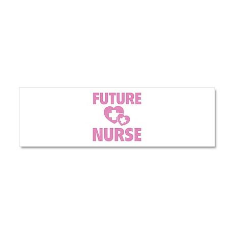 Future Nurse Car Magnet 10 x 3