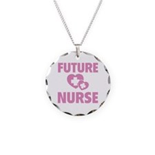 Future Nurse Necklace Circle Charm