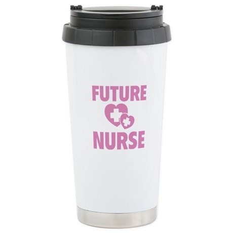 Future Nurse Stainless Steel Travel Mug