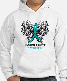Butterfly Ovarian Cancer Hoodie