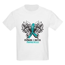 Butterfly Ovarian Cancer T-Shirt