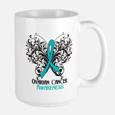 Butterfly Ovarian Cancer Mug
