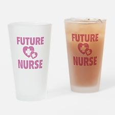 Future Nurse Drinking Glass