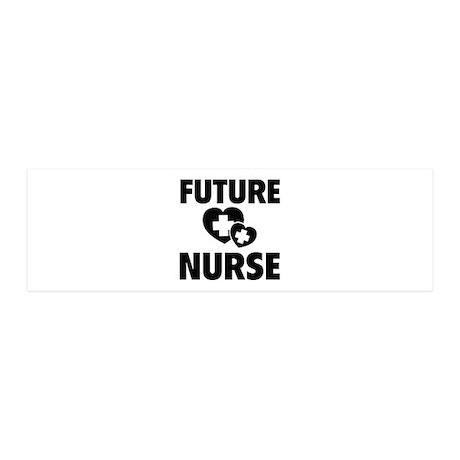Future Nurse 21x7 Wall Peel