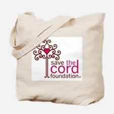 Save the Cord Foundation Logo Tote Bag