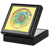 A course in miracles Square Keepsake Boxes