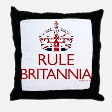 Rule Britannia Throw Pillow