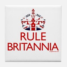 Rule Britannia Tile Coaster