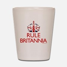 Rule Britannia Shot Glass