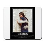 Be Comforted By The Word Mousepad