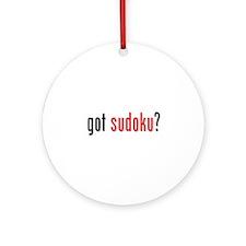 Got Sudoku? Ornament (Round)