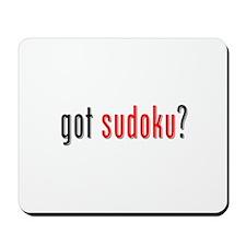 Got Sudoku? Mousepad