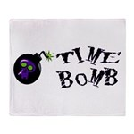 Time Bomb Throw Blanket