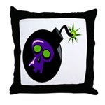 Time Bomb Throw Pillow