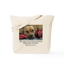 Milo sez end BSL Tote Bag