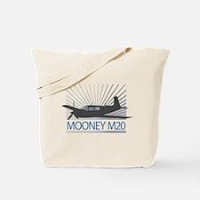 Aircraft Mooney M20 Tote Bag