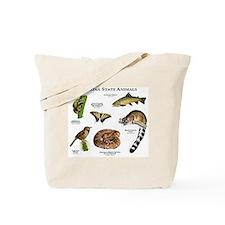Arizona State Animals Tote Bag