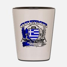 Greece European Soccer 2012 Shot Glass