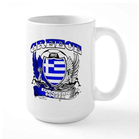 Greece European Soccer 2012 Large Mug