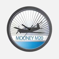 Aircraft Mooney M20 Wall Clock