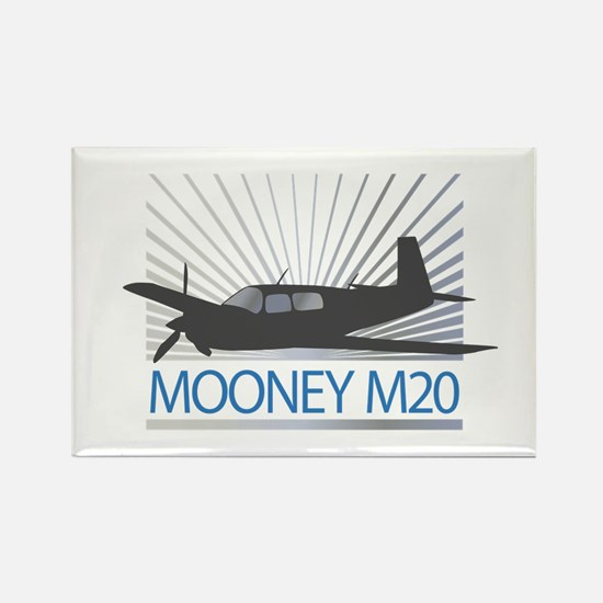 Aircraft Mooney M20 Rectangle Magnet