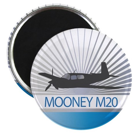 "Aircraft Mooney M20 2.25"" Magnet (100 pack)"