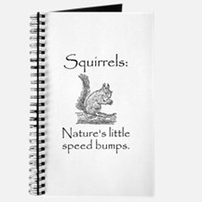 Squirrel Speed Bump Journal