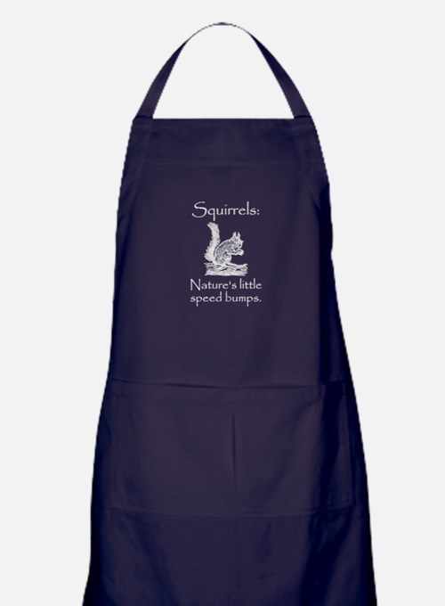 Squirrel Speed Bump Apron (dark)