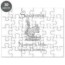 Squirrel Speed Bump Puzzle