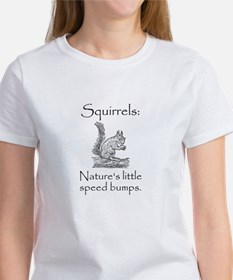 Squirrel Speed Bump Women's T-Shirt