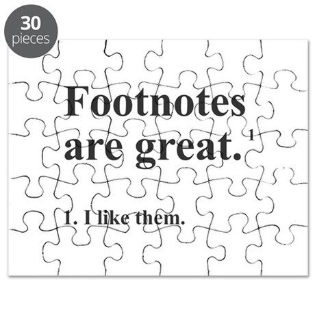 Footnotes Puzzle