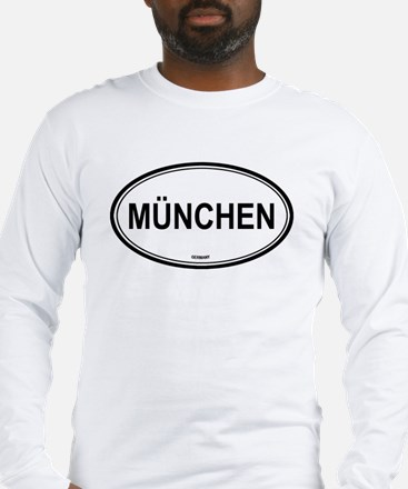 München, Germany euro Long Sleeve T-Shirt