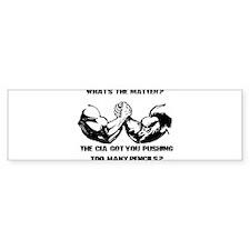 Predator Funny One Liner Bumper Sticker