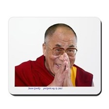 Dalai Lama - Make Bliss Happen - Mousepad