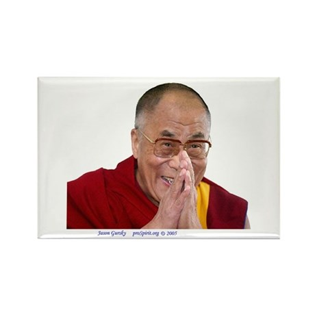 Dalai Lama - Rectangle Magnet (10 pack)