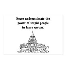 Stupid Politicians Postcards (Package of 8)