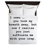 Suffocate Me Queen Duvet