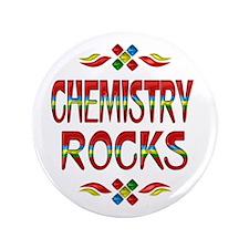 """Chemistry Rocks 3.5"""" Button"""