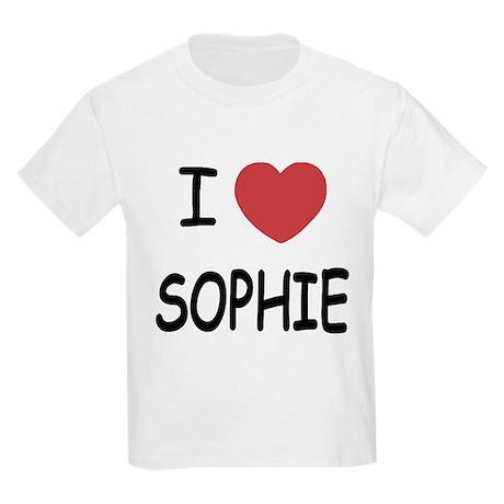 I heart Sophie Kids Light T-Shirt