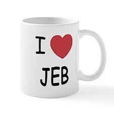 I heart Jeb Mug