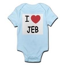 I heart Jeb Infant Bodysuit