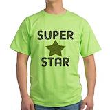 Super star Green T-Shirt