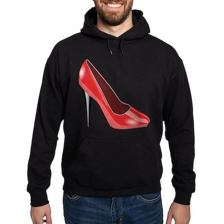 Red High Heel Hoodie (dark)