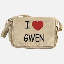 I heart Gwen Messenger Bag