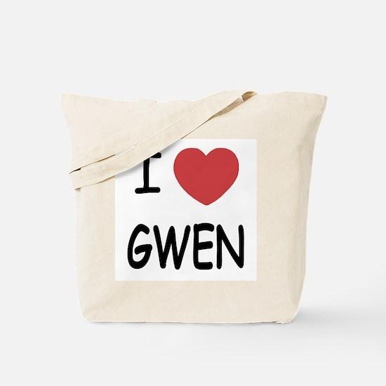 I heart Gwen Tote Bag