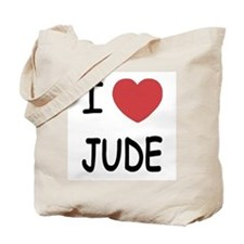 I heart Jude Tote Bag