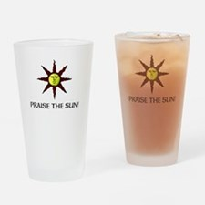 Praise the Sun! Drinking Glass