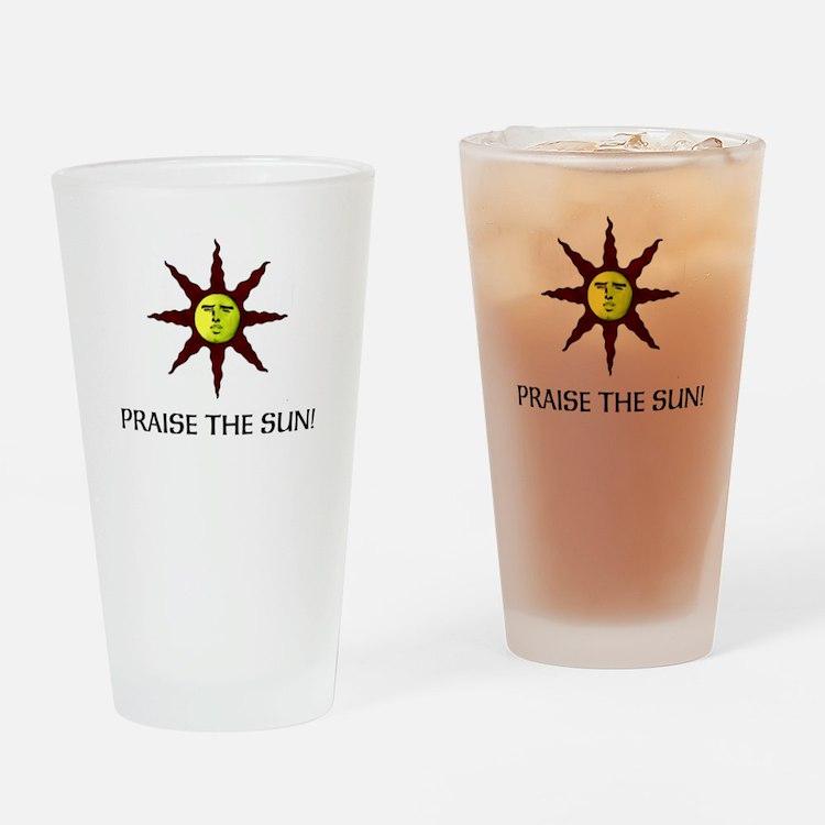 Praise the Sun! Drinking Glass