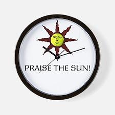 Praise the Sun! Wall Clock